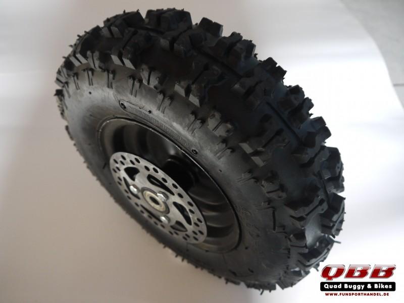 Rad 4.10-6 6 Zoll vorne komplettrad  mit Felge und Reifen für Kinderquad Komplett Reifen – Bild 1