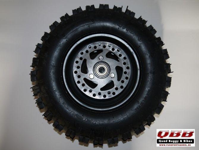 Kinderquad Komplett Reifen Rad 4.10-6 Zoll vorne