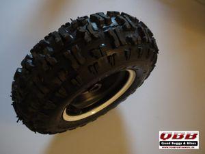 Rad 13x5.00-6  6 Zoll hinten Komplett mit Felge und Reifen für Kinderquad