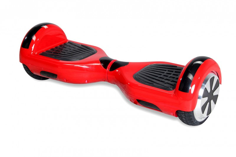 "Hoverboard - Selbstbalancierender E-Scooter - Elektro Board Modell AB700 6.5"" - rot – Bild 5"