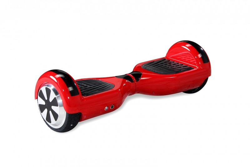 "Hoverboard - Selbstbalancierender E-Scooter - Elektro Board Modell AB700 6.5"" - rot – Bild 1"