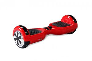 """Hoverboard - Selbstbalancierender E-Scooter - Elektro Board Modell AB700 6.5"""" - rot 001"""