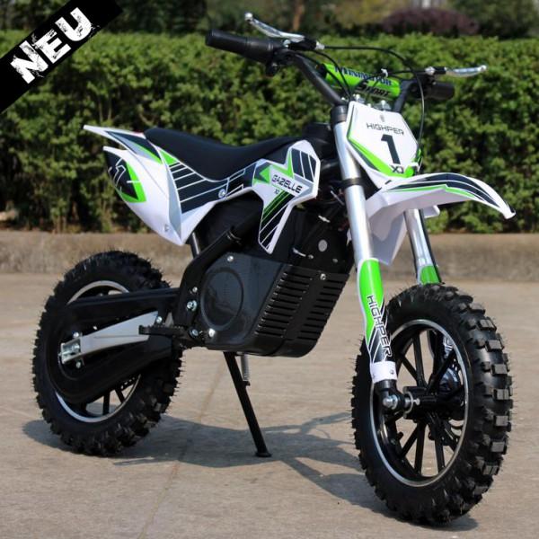 Elektrisches Dirtbike - Mini Motorrad für Kinder mit 500 Watt - 24 Volt - HIGHPER 500