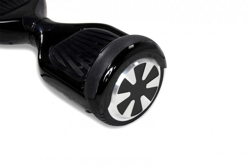 "Hoverboard - Selbstbalancierender E-Scooter - Elektro Board Modell AB700 6.5"" - schwarz – Bild 3"