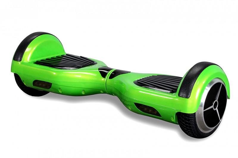 "Hoverboard - Selbstbalancierender E-Scooter - Elektro Board Modell AB700 6.5"" - grün – Bild 3"