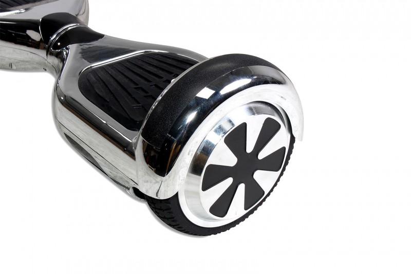 hoverboard selbstbalancierender e scooter elektro board modell ab700 6 5 silber chrome. Black Bedroom Furniture Sets. Home Design Ideas
