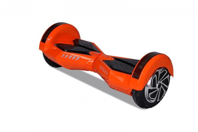 "Hoverboard - Selbstbalancierender E-Scooter - Elektro Board Modell AB700 - 8"" orange – Bild 1"