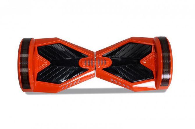 "Hoverboard - Selbstbalancierender E-Scooter - Elektro Board Modell AB700 - 8"" orange"