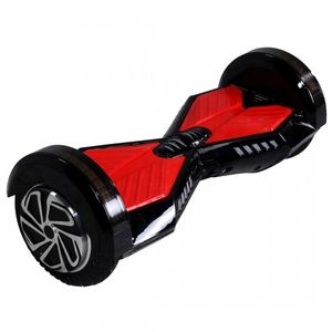 "Hoverboard - Selbstbalancierender E-Scooter - Elektro Board Modell AB700 - 8"" weiss-blau 001"