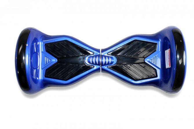 "Hoverboard - Selbstbalancierender E-Scooter - Elektro Board Modell AB800 - 10"" blau"