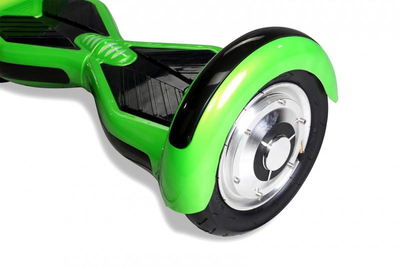 "Hoverboard - Selbstbalancierender E-Scooter - Elektro Board Modell AB800 - 10"" grün – Bild 1"