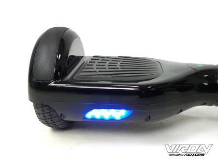 Balance Board - E-Balance Scooter - Hoverboard 600W  36V - Chrome Silber