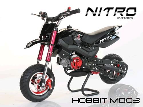 Pocketbike Dirt Bike 50ccm - 2 Takt - Hobbit