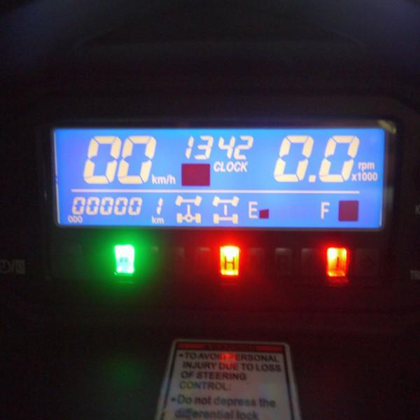 UTV HS-500-4 von Hisun - 4x4 Allrad UTV + Seilwinde + AHK CAMO VISTA für Jäger + EFI – Bild 9