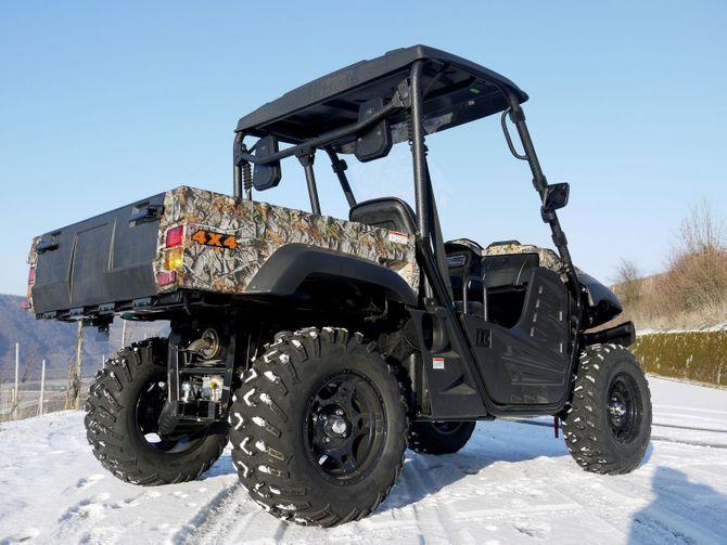 UTV HS-500-4 von Hisun - 4x4 Allrad UTV + Seilwinde + AHK CAMO VISTA für Jäger + EFI