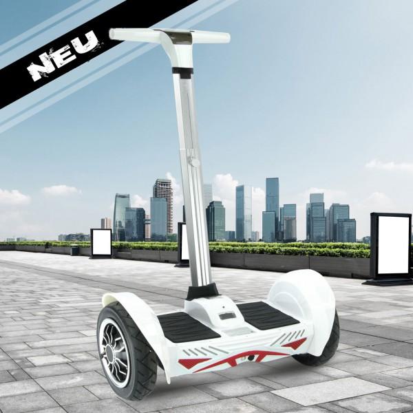 Seg Wheel Hoverboard Balance Board 800 Watt + Lithium + Bluetooth - WEISS