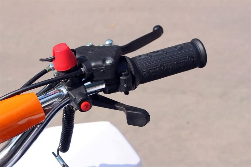 Pocketquad 50ccm - drosselbar mit Notausleine