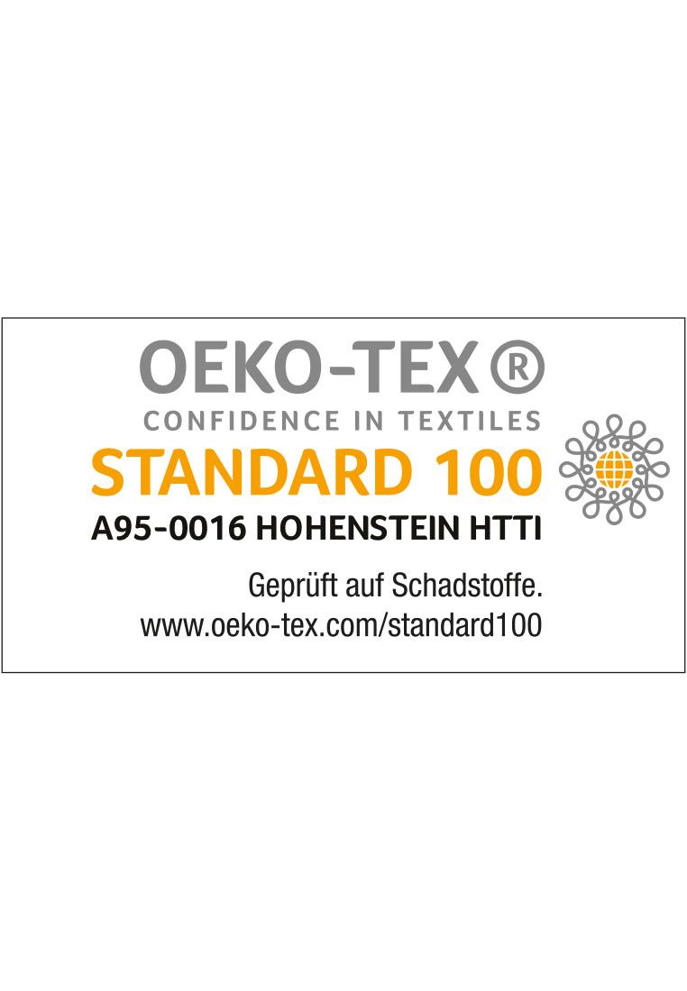 OEKO Tex zertifiziert