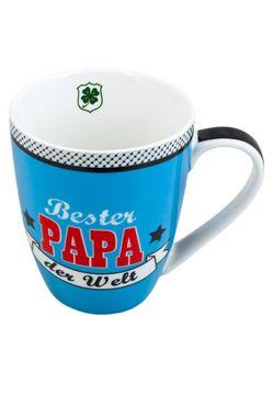 Bester Papa Henkeltasse Porzellan