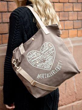 Herzallerliebst Einkaufstasche