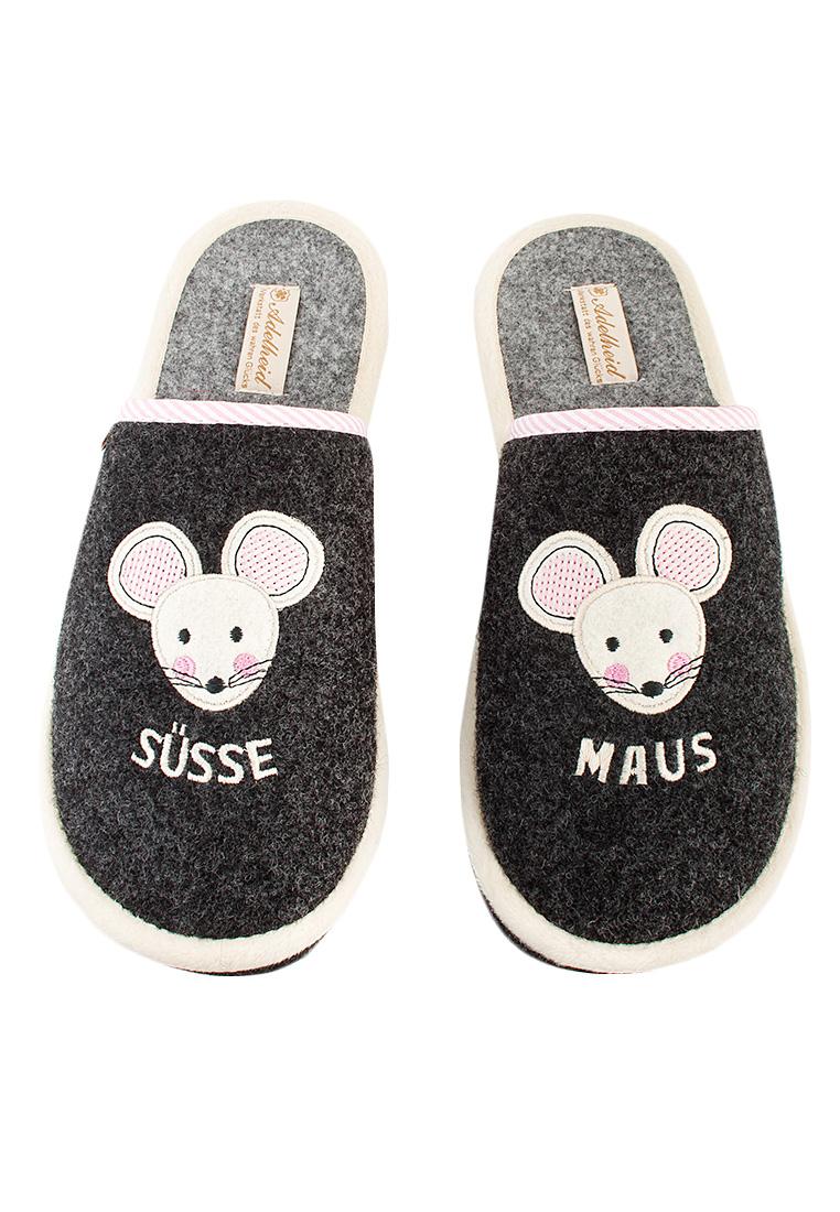 buy popular 73b40 3abcb Süße Maus Filzpantoffel