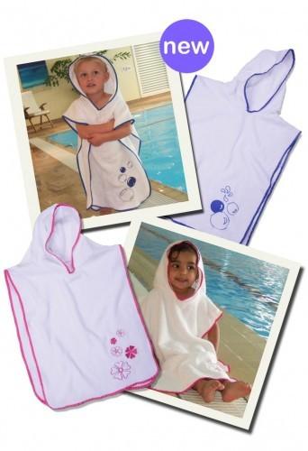 Poncho-Badetücher für Babys und Kinder – Bild 1