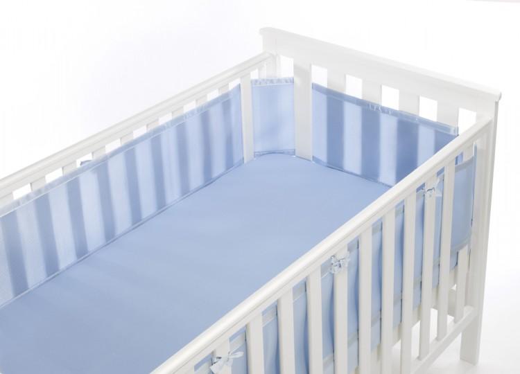 Luftdurchlässiges Babynest für Gitterbetten – Bild 2