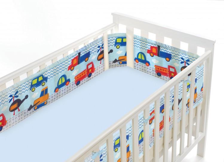 Luftdurchlässiges Babynest für Gitterbetten – Bild 5