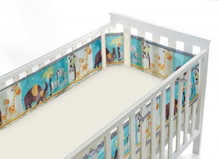 Luftdurchlässiges Babynest für Gitterbetten – Bild 4