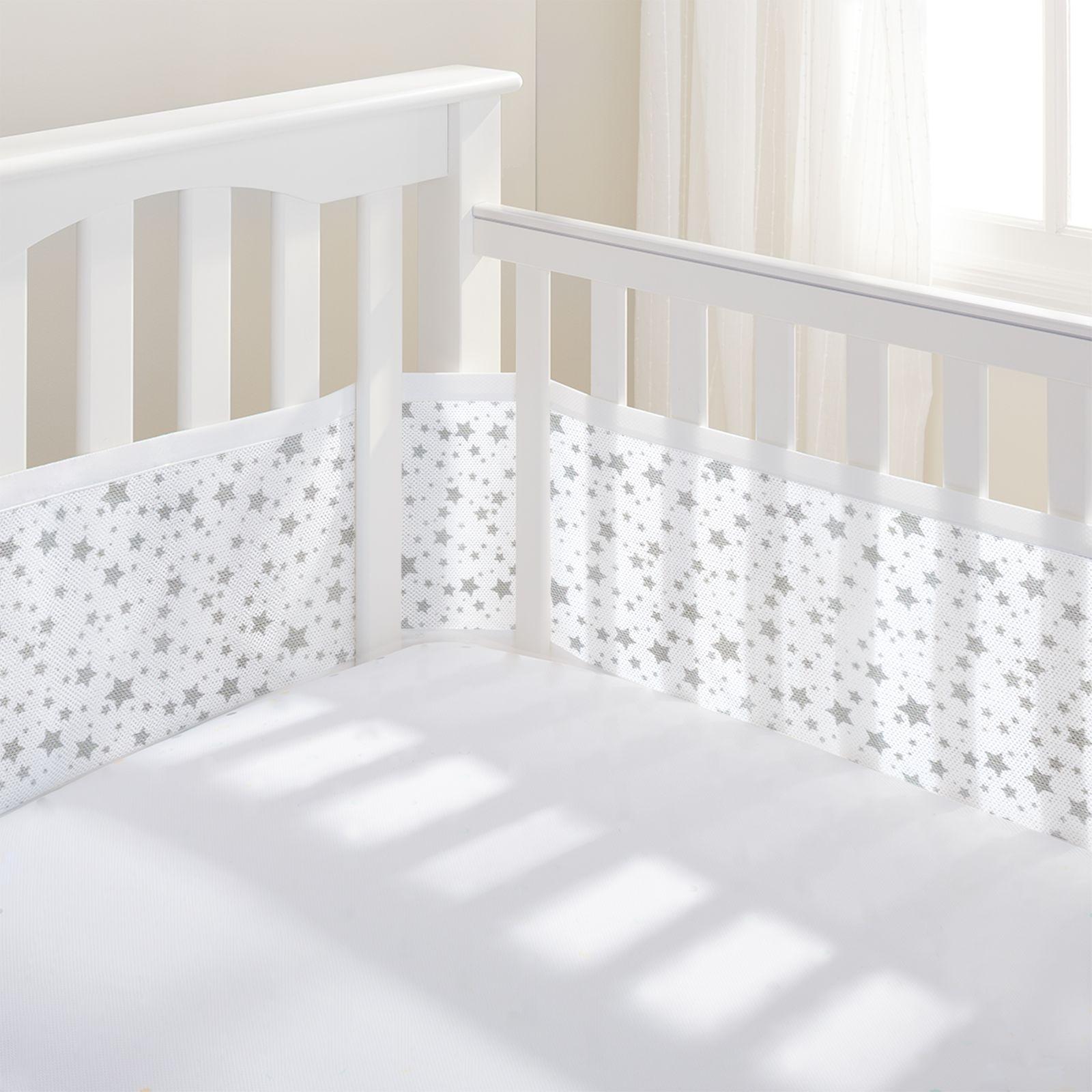 Luftdurchlässiges Babynest für Gitterbetten – Bild 24