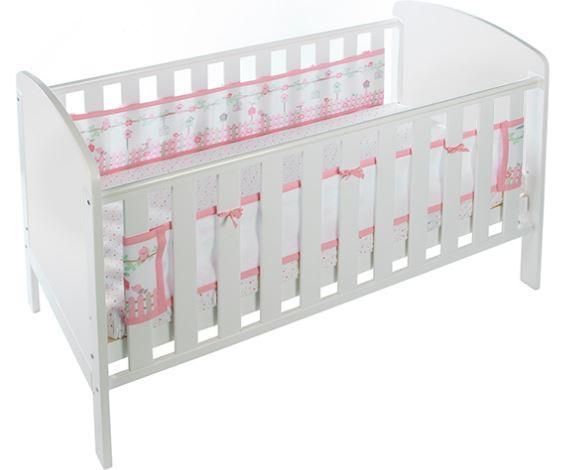 Luftdurchlässiges Babynest für Betten mit geschlossenem Kopf- und Fußteil – Bild 7