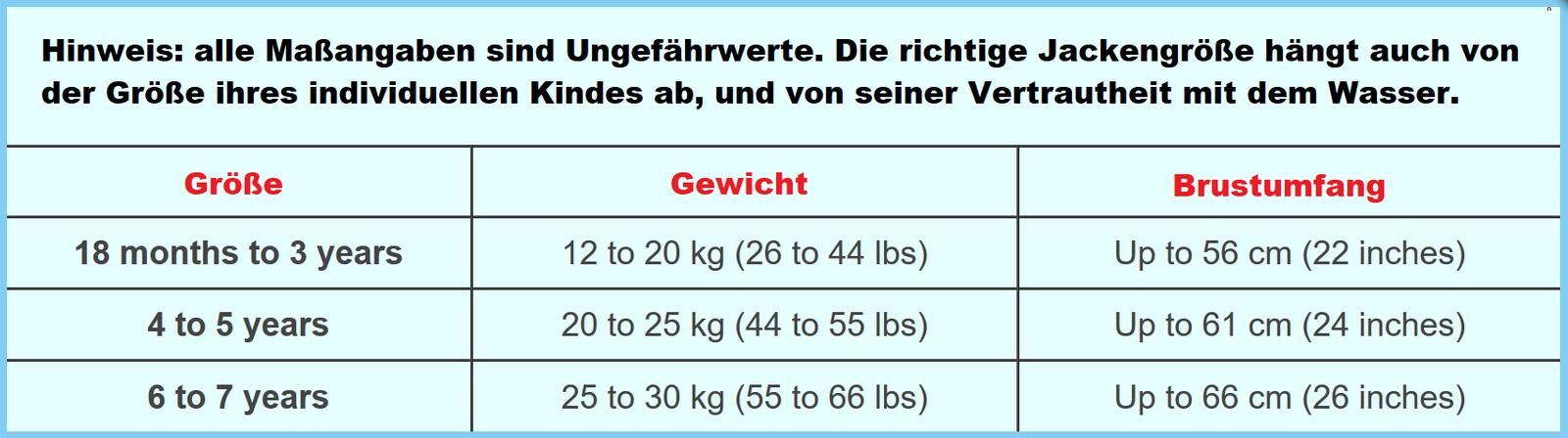 Konfidence Kinderschwimmweste, Schwimmhilfe mit  Lampiphant Plitsch-Platsch-Fibel – Bild 12