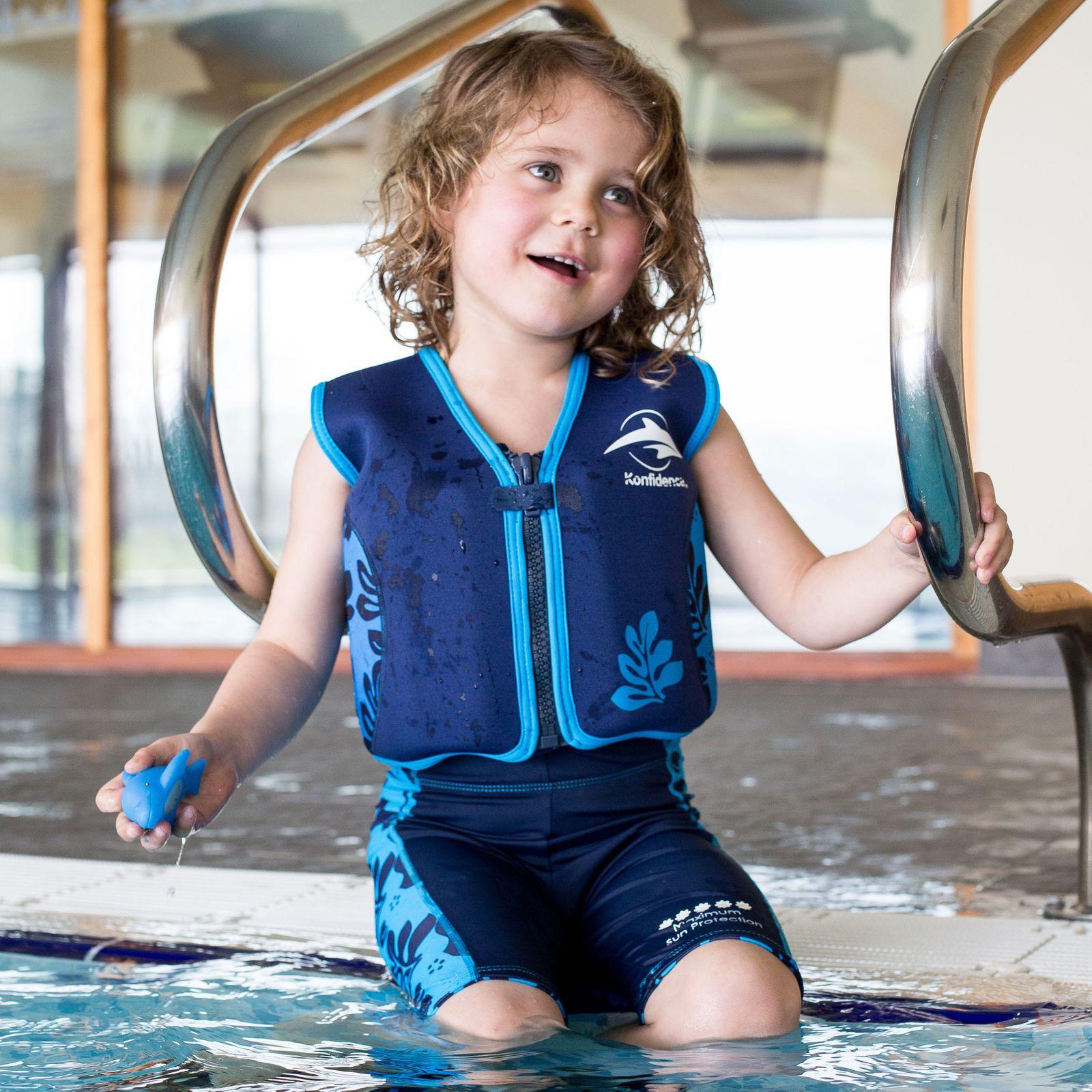 Konfidence Kinderschwimmweste, Schwimmhilfe mit  Lampiphant Plitsch-Platsch-Fibel – Bild 15