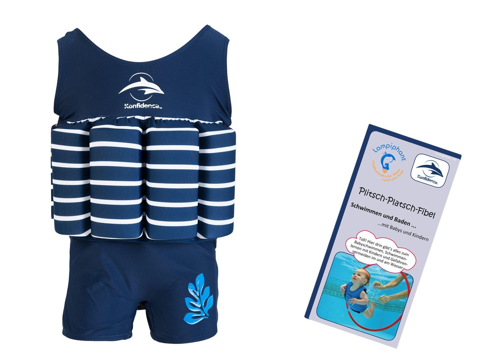 Konfidence Floatsuit, Schwimmhilfe mit umfangreichen Schwimmratgeber – Bild 4