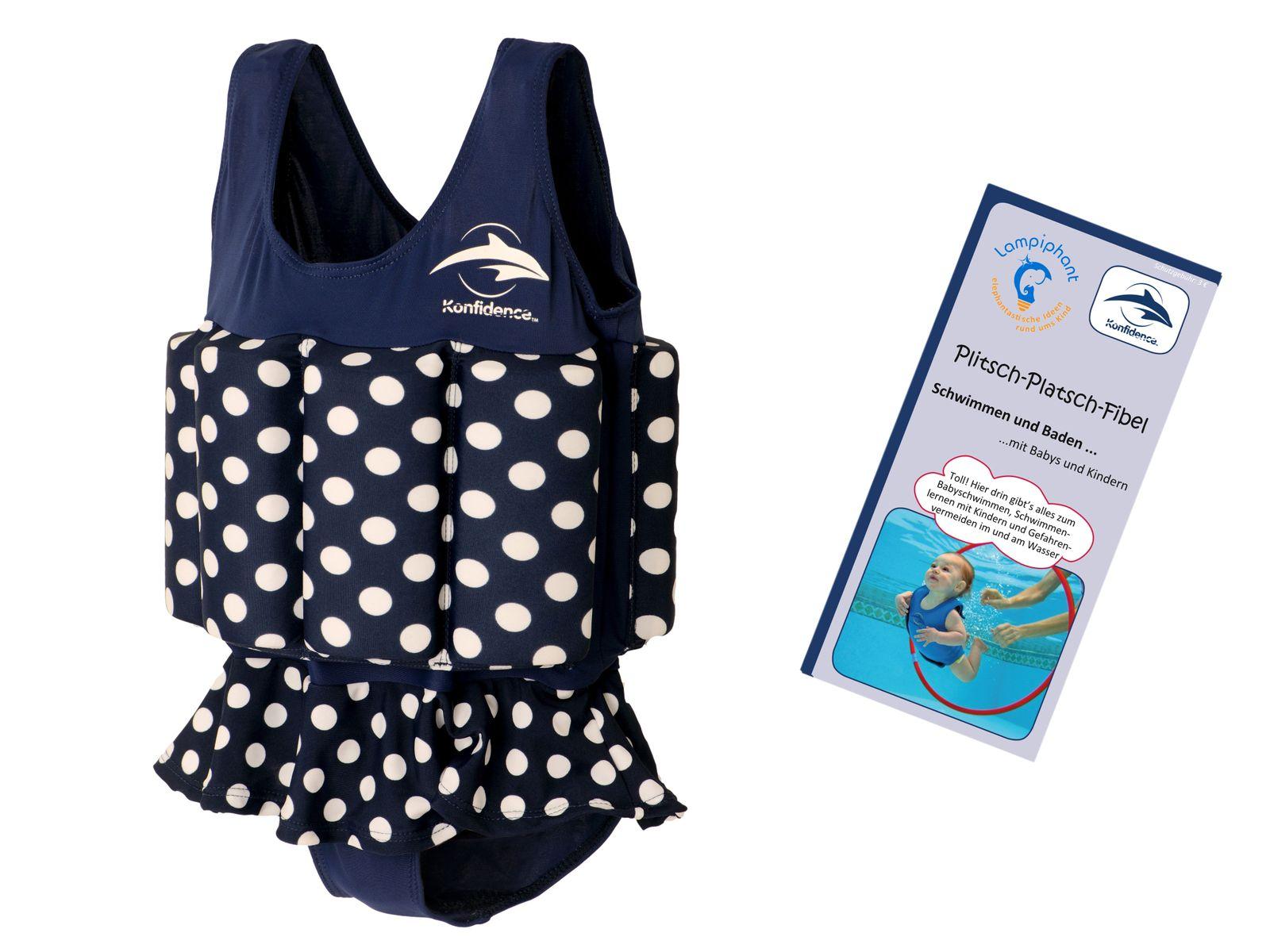 Konfidence Floatsuit, Schwimmhilfe mit umfangreichen Schwimmratgeber – Bild 7