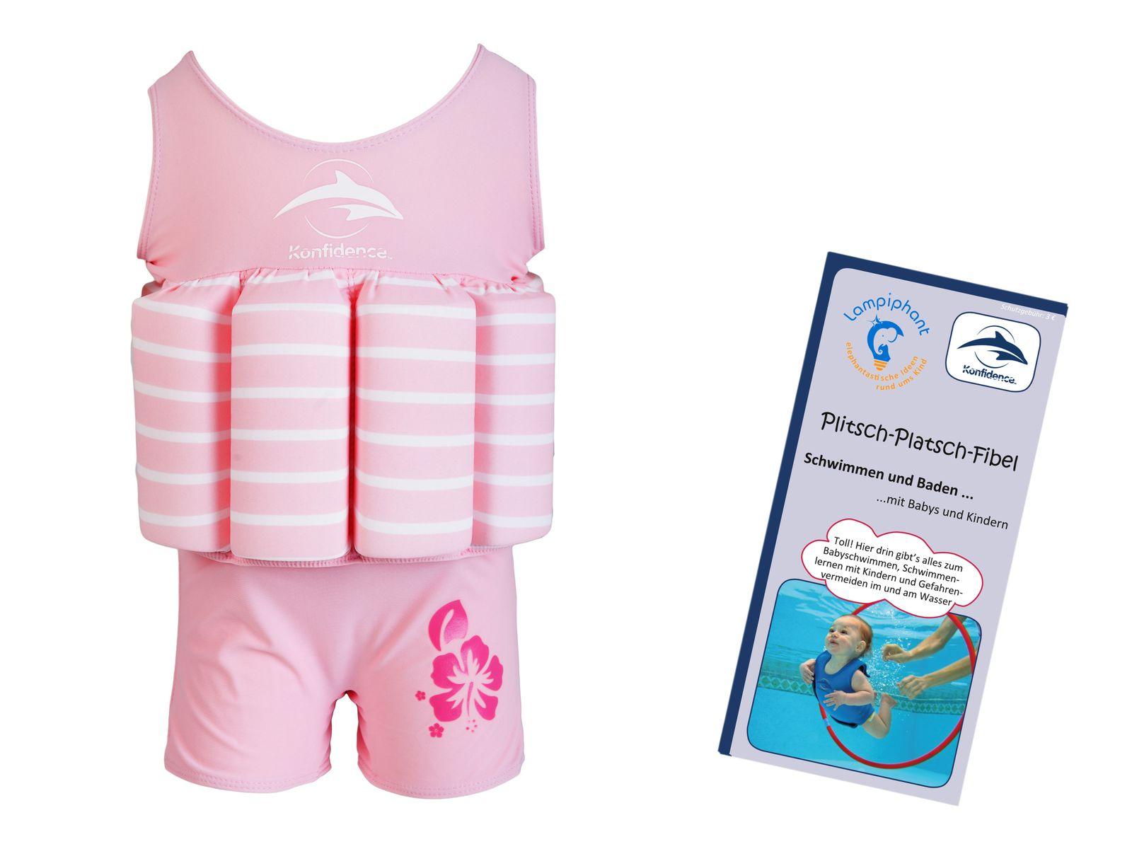 Konfidence Floatsuit, Schwimmhilfe mit umfangreichen Schwimmratgeber – Bild 10