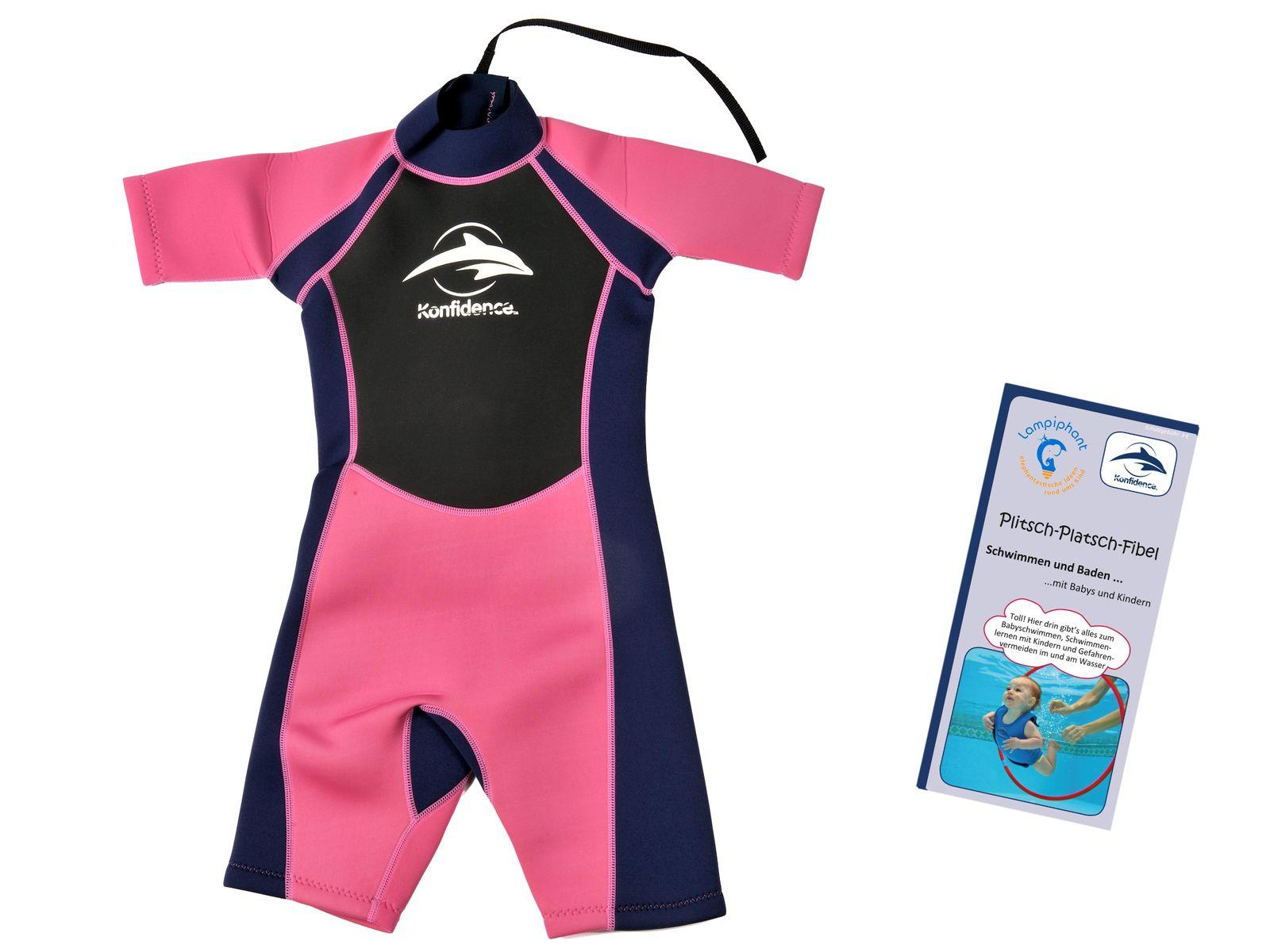Konfidence Neoprenanzug für Kinder mit umfangreichem Schwimmratgeber – Bild 3
