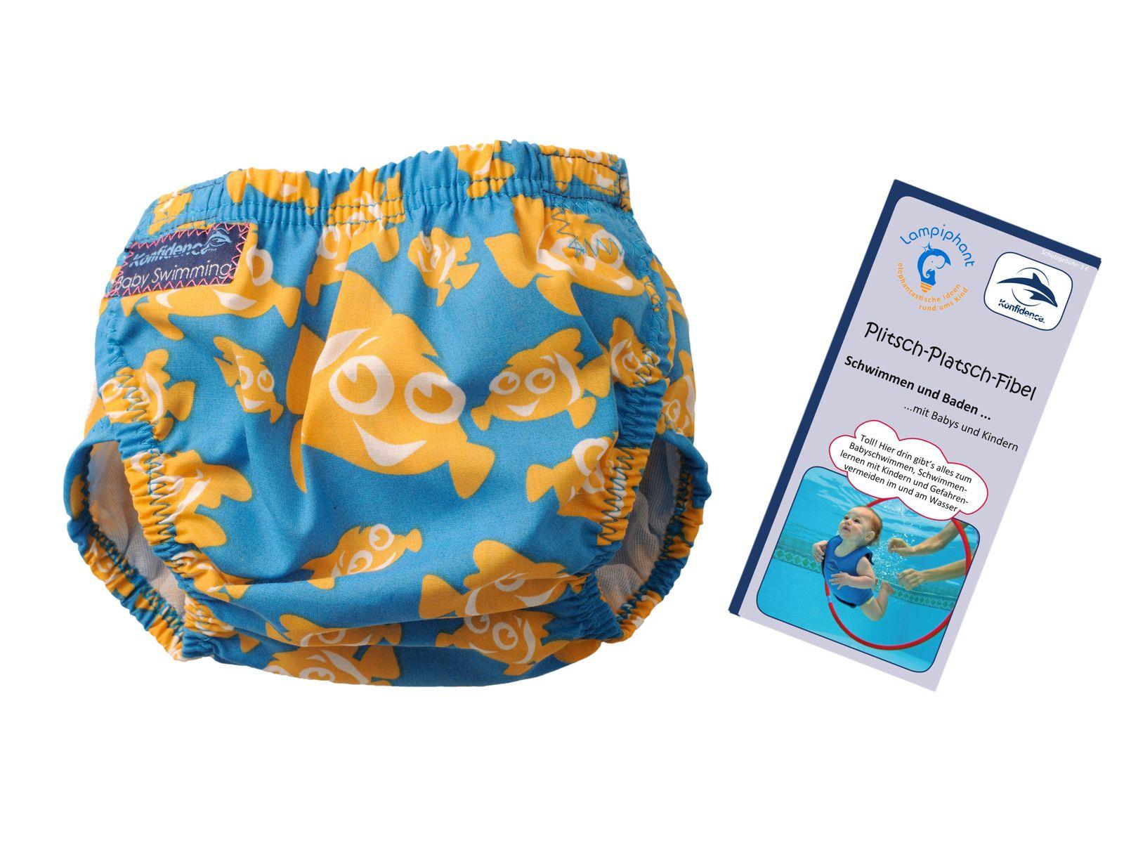 Konfidence Schwimmwindel mit umfangreichem Babyschwimmratgeber (passt von 3 Monate bis 3 Jahre) – Bild 2