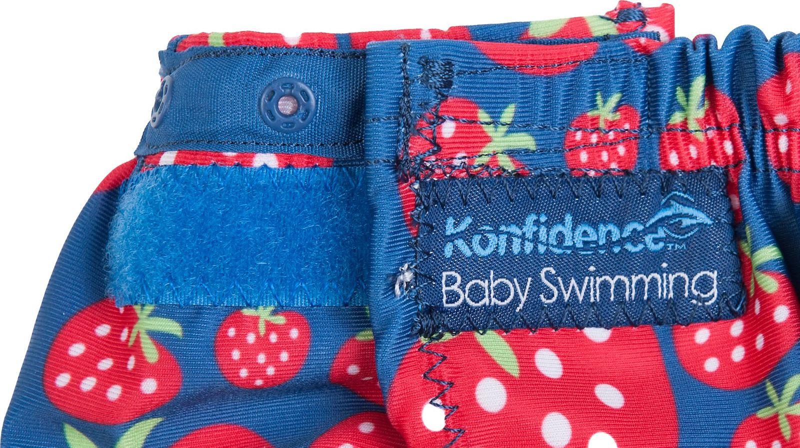 Konfidence Schwimmwindel mit umfangreichem Babyschwimmratgeber (passt von 3 Monate bis 3 Jahre) – Bild 17