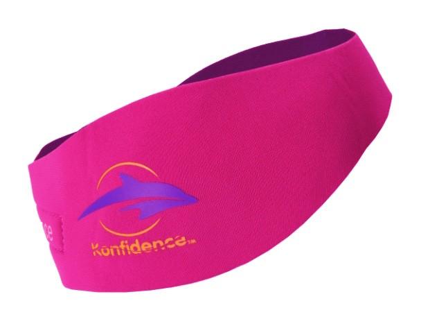 Neopren-Stirnband mit Silikon-Ohrstöpseln