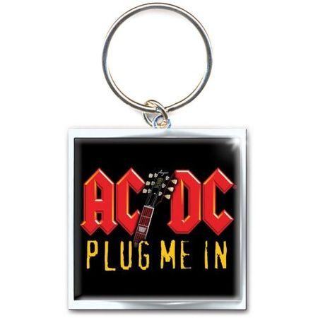 AC/DC Schlüsselanhänger Plug Me In Keychain