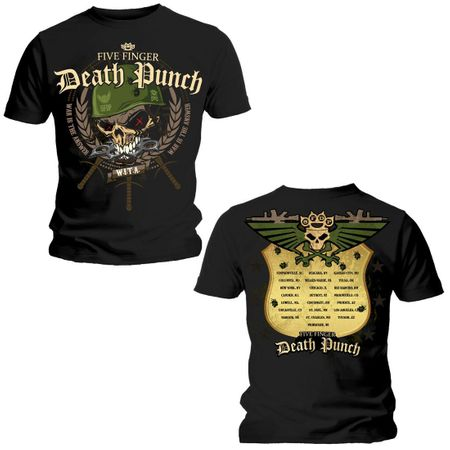 Five Finger Death Punch Bandshirt Warhead in S
