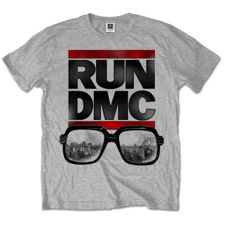 Run DMC Mens Fan Fashion T-Shirt Glasses NYC von S-2XL