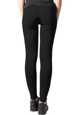 Urban Classics Damen Jersey Leggings in schwarz von XS-5XL – Bild 4