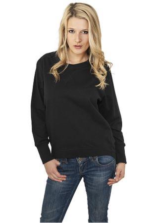 Urban Classics Ladies Basic Sweatshirt in schwarz von Größe XS-XL