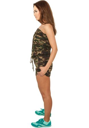 Urban Classics Ladies Camo Hot Jumpsuit Trainingsanzug in Größe XS-XL – Bild 2