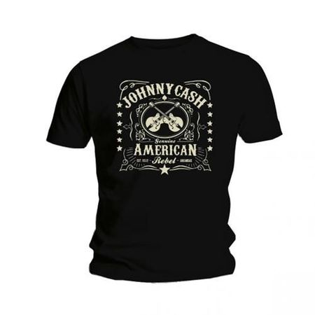 Johnny Cash Bandshirt American Rebel in S