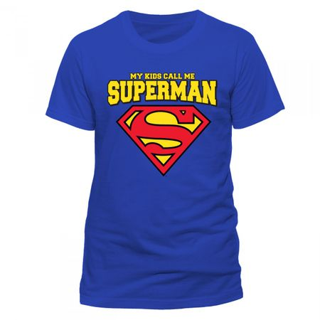 Superman Mens T-Shirt My Kids Call Me von S bis 2XL