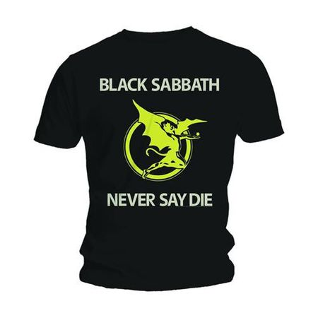 Black Sabbath T-Shirt Never Say Die in S
