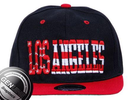 Los Angeles Stars Baseball Snapback Cap in rot-schwarz – Bild 2